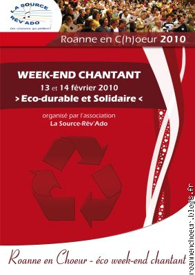 Eco week-end chantant